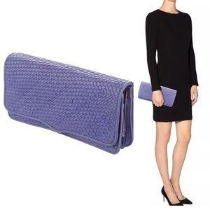 Rebecca Minkoff Honey Clutch Woven Leather